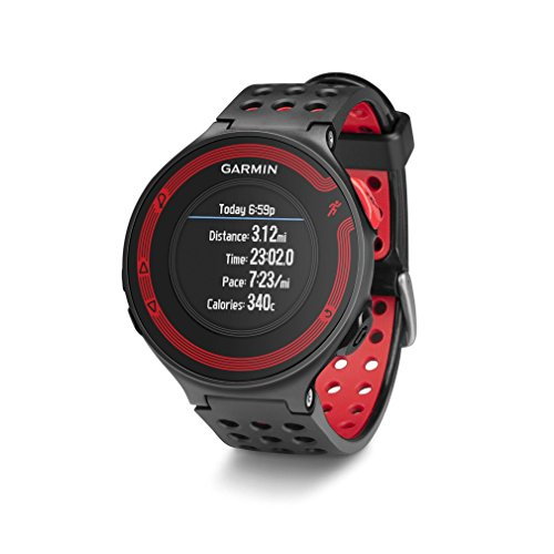 Garmin Forerunner 220 – Black/Red Bundle (Includes Heart Rate Monitor) (Certified Refurbished)