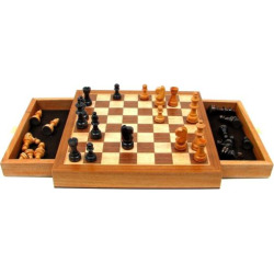 Magnetic Wooden Chess Set, Multicolor