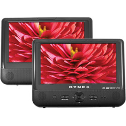 dynex dx d9pdvd 9 dual screen portable dvd player scratch n dent - Allshopathome-Best Price Comparison Website,Compare Prices & Save