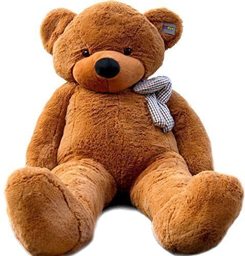 Joyfay 78″ Giant Teddy Bear Dark Brown Valentine's Gift