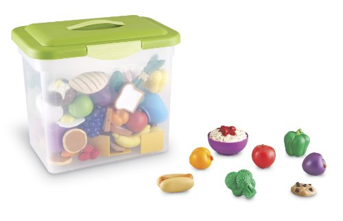 Learning Resources LER9723 New Sprouts Classroom Play Food Set