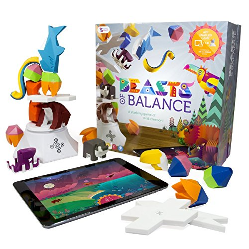 Sensible Object Beasts of Balance – A Digital Tabletop Hybrid Family Stacking Game For Ages 7+ (BOB-COR-WW-1/GEN)