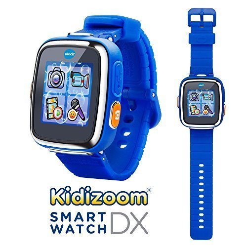 VTech Kidizoom Smartwatch DX – Special Edition – Red Flame with Bonus Royal Blue Wristband