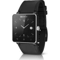Sony SmartWatch 2 SW2 w/ Silicon Wristband – Black (Refurbished)