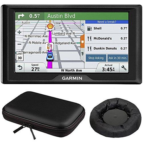 Drive 60LM GPS Navigator (US) – 010-01533-0C Mount and Case Bundle with GPS, Universal GPS Navigation Dash-Mount and PocketPro XL Hardshell Case Bundle