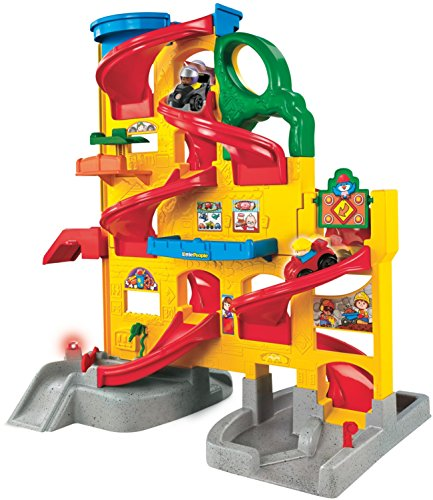 Fisher-Price Little People Wheelies Stand 'n Play Rampway