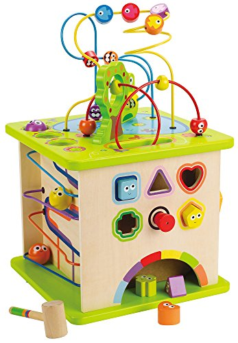 hape country critters wooden activity play cube by wooden learning puzzle toy - Allshopathome-Best Price Comparison Website,Compare Prices & Save