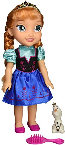 Frozen Disney 31069-1 Toddler Anna Doll with Royal Reflection Eyes
