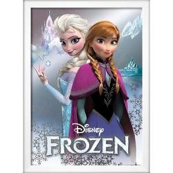 Art.com Frozen Anna and Elsa Poster, Purple
