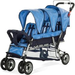 Child Craft Sport Trio 3 Child Stroller, Blue