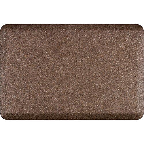 WellnessMats Anti-Fatigue Granite Motif Kitchen Mat,36 Inch by 24 Inch, Copper