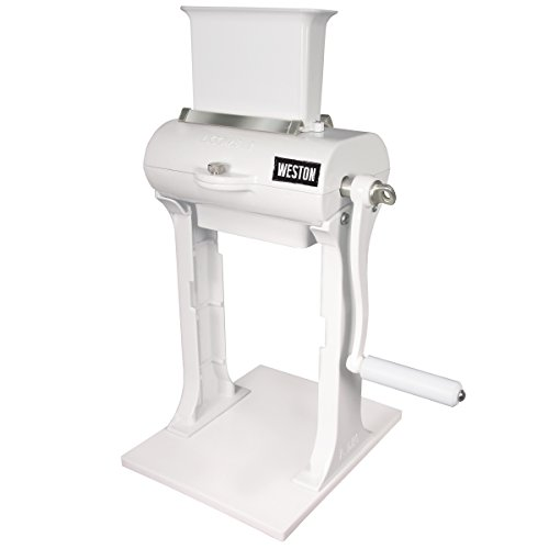 Weston Manual Heavy Duty Meat Cuber Tenderizer (07-3101-W-A), Sturdy Aluminum Construction, Stainless Steel Blades