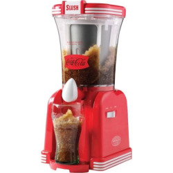 Nostalgia Electrics Limited Edition Coca-Cola Quick Slush Drink Maker, Multicolor