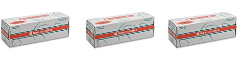DecoPac Kee-Seal Ultra Disposable Pastry Bags, 21-Inch, Clear (3-Pack)