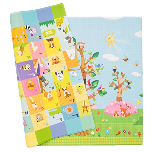 Baby Care Play Mat – Birds on the Trees (Large)