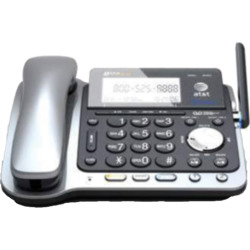 AT & T TL86109 DECT 6.0 2-Line Expandable Corded/Cordless Phone System