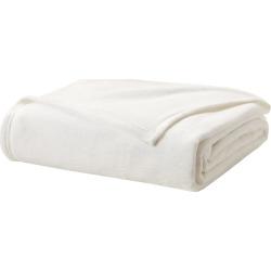 True North by Sleep Philosophy Liquid Velvet Fleece Blanket, Natural