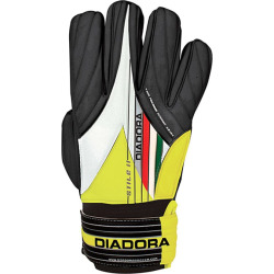 Diadora Stile II Soccer Goalie Gloves – Adult, Black