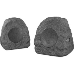 Innovative Technology Rechargeable Bluetooth Outdoor Wireless Rock Speakers, Multicolor