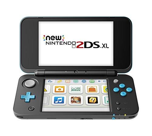 Nintendo New 2DS XL – Black + Turquoise