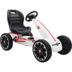 Blazin Wheels Abarth F1 Pedal Go Kart Ride-on Vehicle, Multicolor