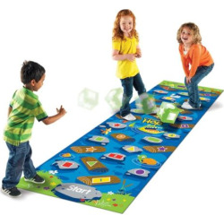 Crocodile Hop Floor Game by Learning Resources, Multicolor