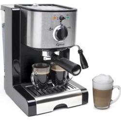 Capresso EC100 Espresso and Cappuccino Machine, Black