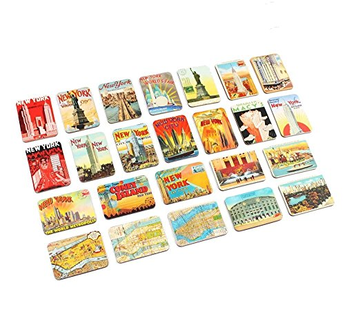 Ninja souvenirs Refrigerator magnets set of 24 New York souvenirs magnetic fridge magnet home decoration accessories arts crafts