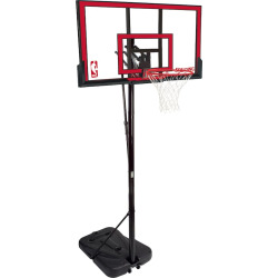 Spalding 48-in. Polycarbonate Portable Basketball Hoop, Multicolor