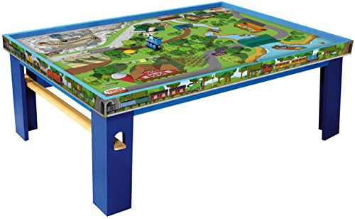Thomas & Friends Fisher-Price Wooden Railway, Island of Sodor Playtable