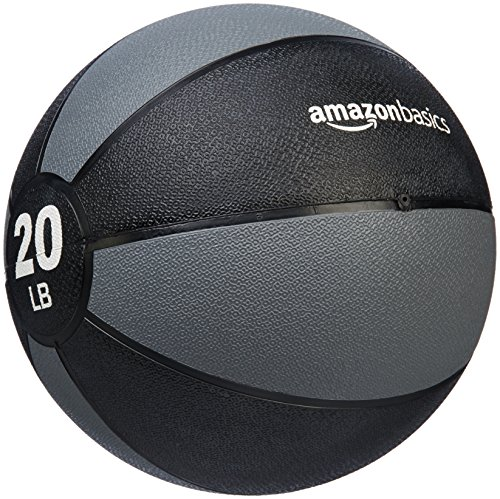 AmazonBasics Medicine Ball, 20-Pounds