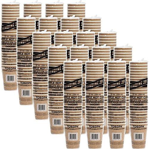 Genuine Joe Prootective Corrugated Hot Cups (500 Cups)