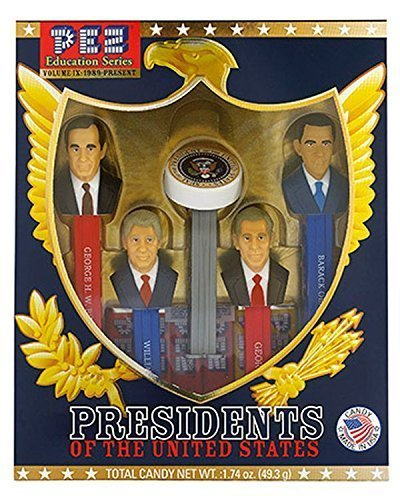 PEZ Candy Presidents of The United States Volume 9 – Pez Limited Edition Collectible Gift Set (Obama, Clinton, Bush) by