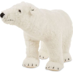 Melissa & Doug Polar Bear Plush, Multicolor