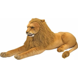 Melissa and Doug Lion Plush Toy, Multicolor