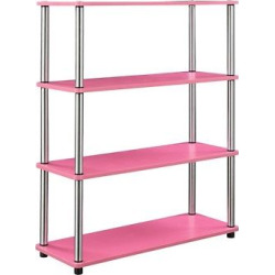 Decorative Bookshelf Pink
