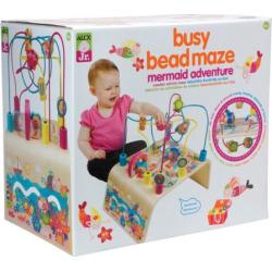 Alex Busy Bead Maze Mermaid Adventure Toy, Multicolor