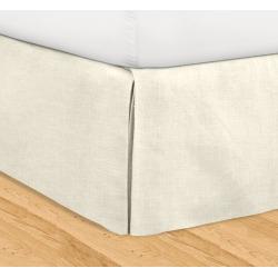Veratex Adjustable Bed Skirt, White