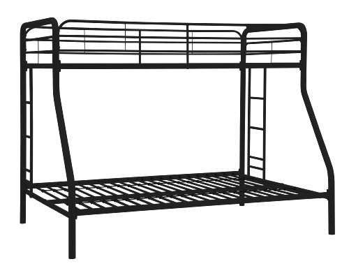 dhp twin over full bunk bed with metal frame and ladder space saving design - Allshopathome-Best Price Comparison Website,Compare Prices & Save