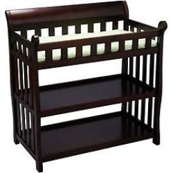 delta children eclipse changing table black cherry - Allshopathome-Best Price Comparison Website,Compare Prices & Save