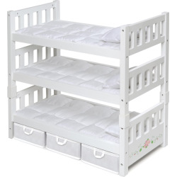 badger basket white rose 1 2 3 convertible doll bunk bed with storage baskets - Allshopathome-Best Price Comparison Website,Compare Prices & Save