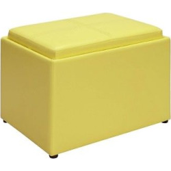 Ottomans Johar Furniture Yellow