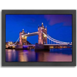 americanflat london tower bridge at blue hour framed wall art multicolor - Allshopathome-Best Price Comparison Website,Compare Prices & Save
