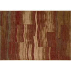 Nourison Somerset Wave Rug, Red