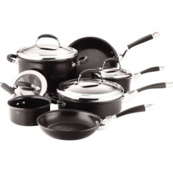 Circulon Elite 10-pc. Hard-Anodized Cookware Set, Multicolor