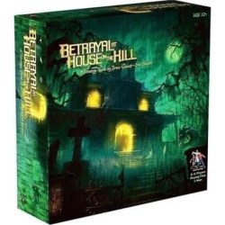 Betrayal at House on the Hill Board Game, Multicolor