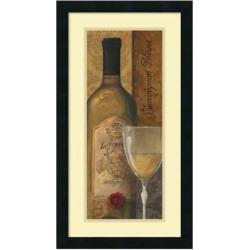From The Cellar I Wine Framed Wall Art, Black