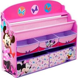 Deluxe Book & Toy Organizer Disney Minnie Mouse – Delta Children, Multi-Colored