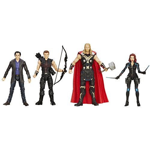 Marvel Avengers 6″ Movie Legends Action Figure (Pack of 4)