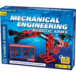 thames kosmos mechanical engineering robotic arms experiment kit multicolor - Allshopathome-Best Price Comparison Website,Compare Prices & Save